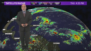Tropical Update 6pm Thursday