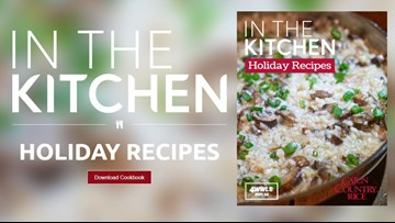 In the Kitchen - Holiday Recipes Cookbook