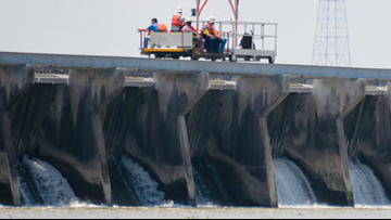 All bays of Bonnet Carré Spillway closed Saturday