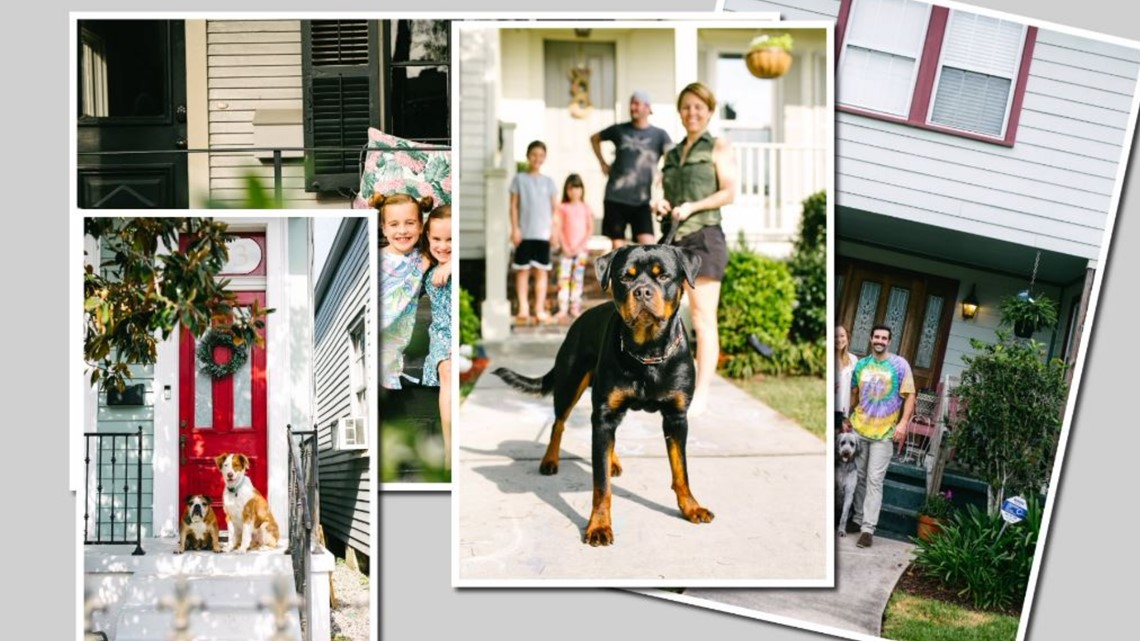 New Orleans photographer takes free family portraits, helps local businesses through 'Front Porch Project'