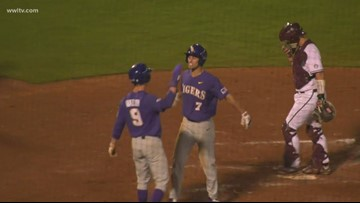 LSU does just enough to host a regional