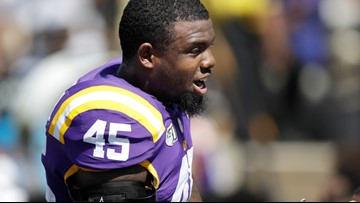 LSU's Michael Divinity Jr reinstated for national championship