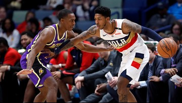 McGee, Caruso, Rondo push Lakers past Pelicans, 130-102
