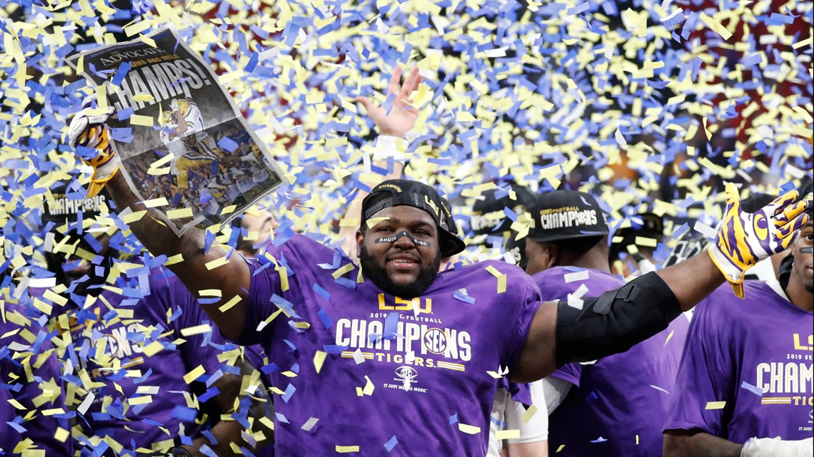LSU No. 1 seed in College Football Playoff - who they'll play, where and when