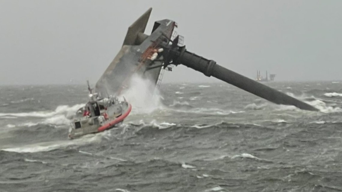 Capsized Liftboat: Hope for a miracle as the search continues