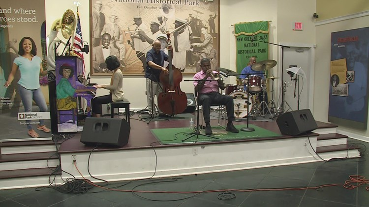 Love music therapy bring Jazz to kids