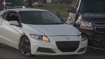 Car theft suspect shot in face, deputies injured in 2 separate cases in St. Bernard