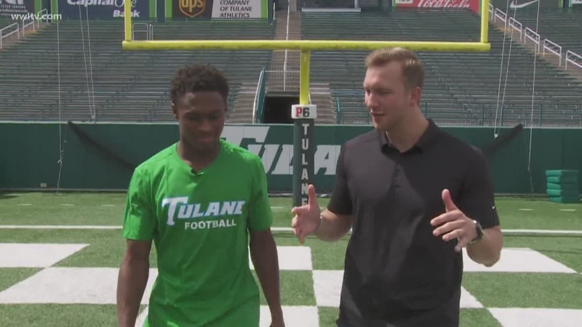 100 yards with the Green Wave: Darnell Mooney