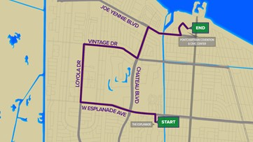 Krewe Of Isis 2020 Parade Route Wwltv Com