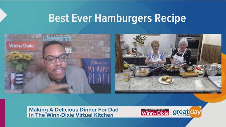 Best Ever Hamburgers Recipe in the Winn-Dixie Virtual Kitchen