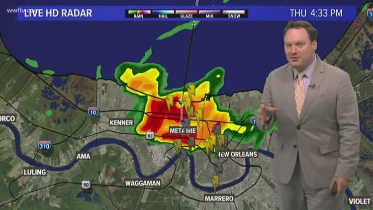 Tropical Moisture Increasing Rain Chances Friday, This Weekend