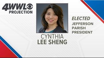 Cynthia Lee-Sheng elected as Jefferson Parish President