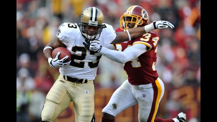 Lance Moore and Pierre Thomas both exceeded their expectations after being undrafted.