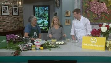 Avocado Deviled Eggs from food coach Jen Smiley