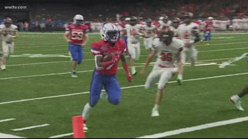 John Curtis rolls over Catholic-BR for Division I state title