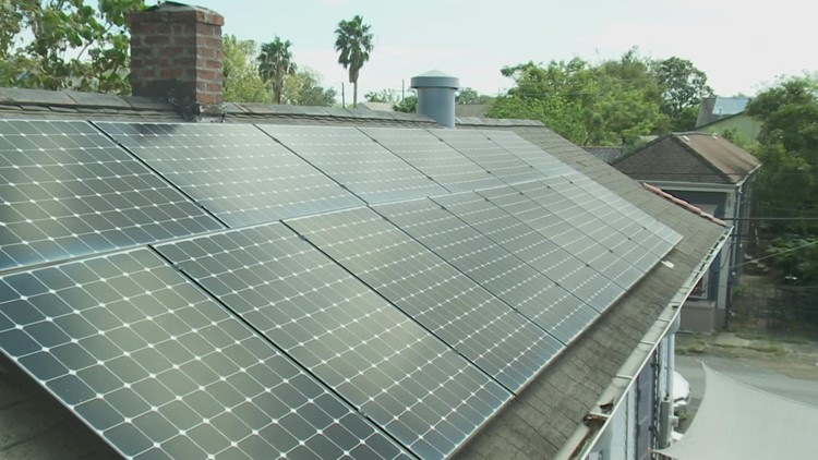 Solar panels could be a key part of Louisiana's hurricane plan post-Ida