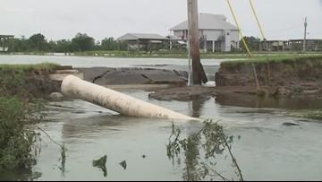 Governor tours flooded parts of Plaquemines Parish