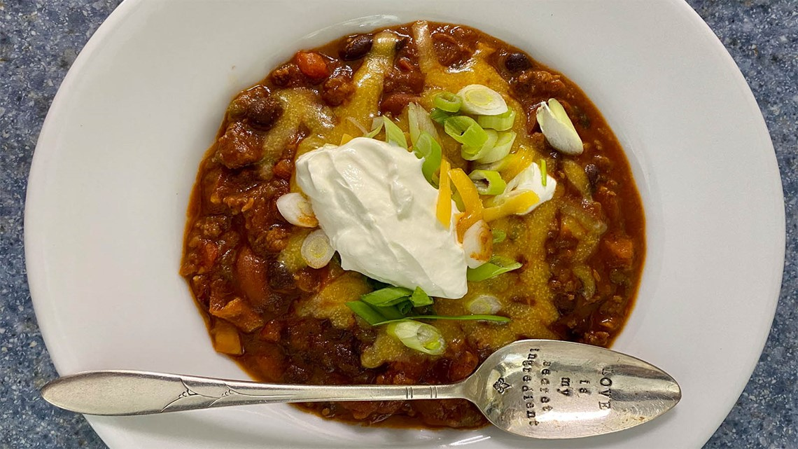 Chef Kevin Belton's Beer Chili recipe