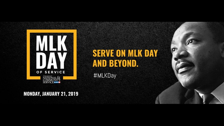 MLK Day of service 2019