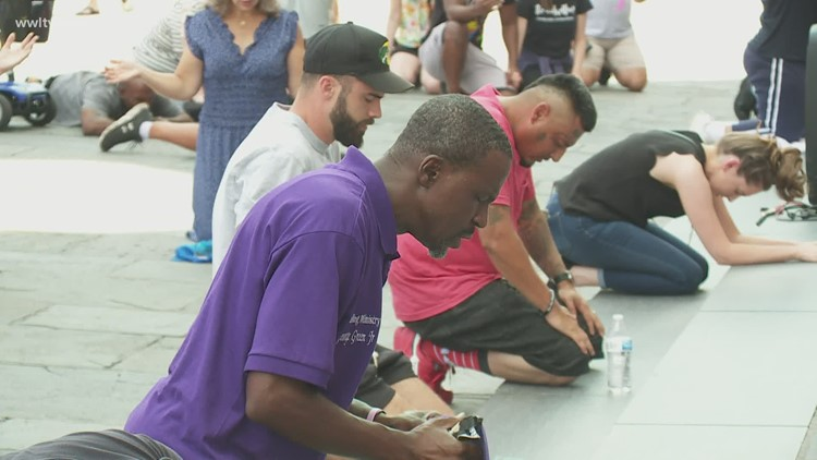 New Orleans pastors organize 'kneel down' in Jackson Square after George Floyd's death