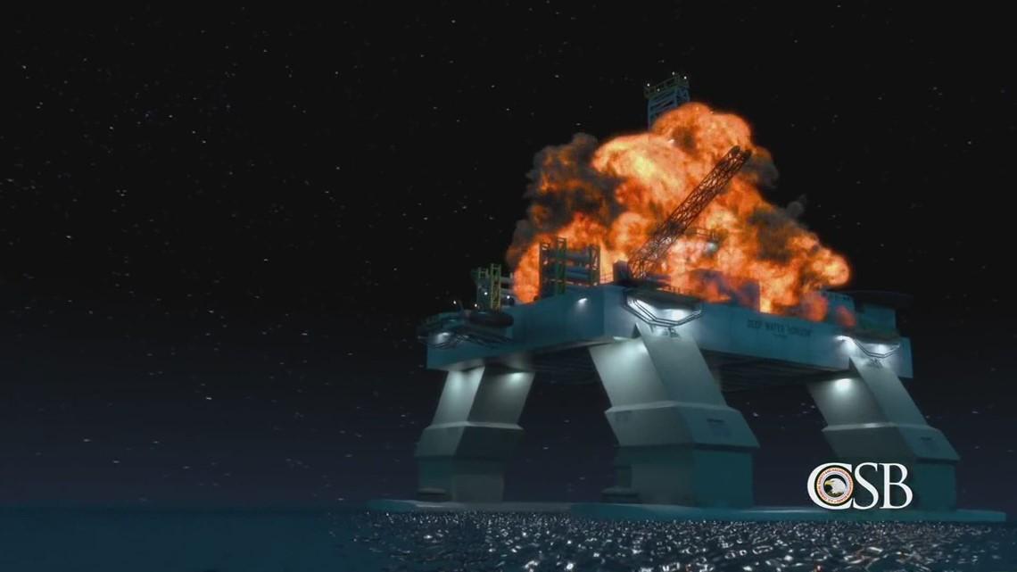 Deepwater Horizon survivor narrowly averts another rig disaster during Hurricane Zeta