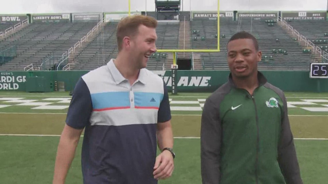 100 yards with the Green Wave: Zachery Harris