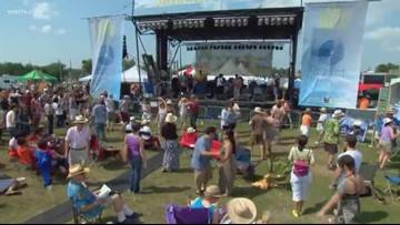 Bayou Boogaloo closes out final day after short morning delay