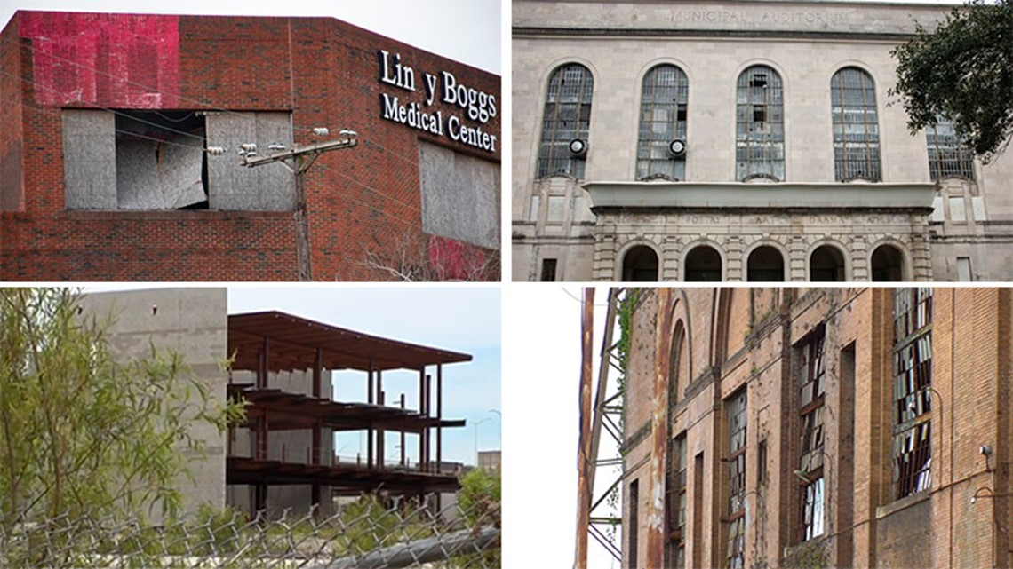 New Orleans' vacant and blighted landmarks: Here's where some of the projects stand