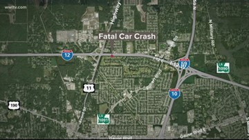 Man kills 2, seriously hurts 2 others in 4-car pile-up in Slidell, police say