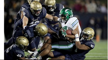 Late FG leads Navy over Tulane