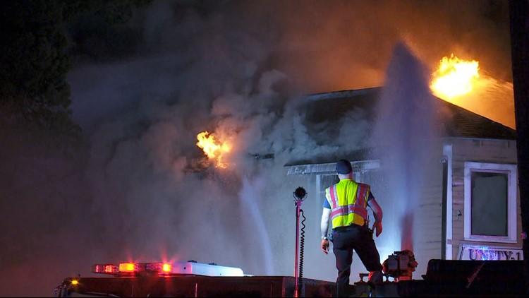 3 dead after car slams into New Orleans beauty salon, sparking major fire