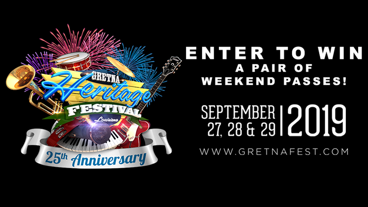 Win weekend passes to Gretna Heritage Festival