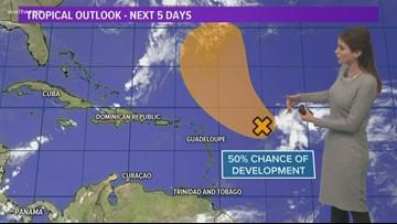 Medium chance for tropical development in the Atlantic