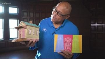 New Orleans gingerbread houses: One of a kind!