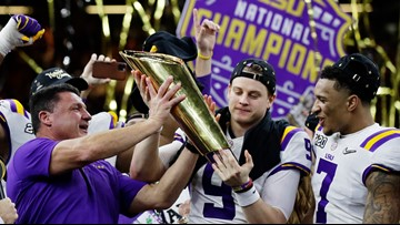 Watch Live: LSU National Championship team visits the White House