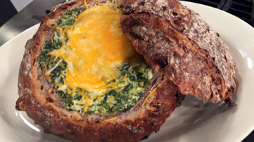 Recipe: Baked Spinach Dip