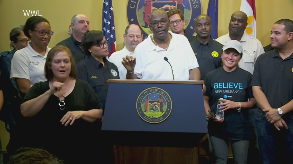 New Orleans city councilman trolls Atlanta Falcons with Super Bowl reference during Tropical Storm Barry