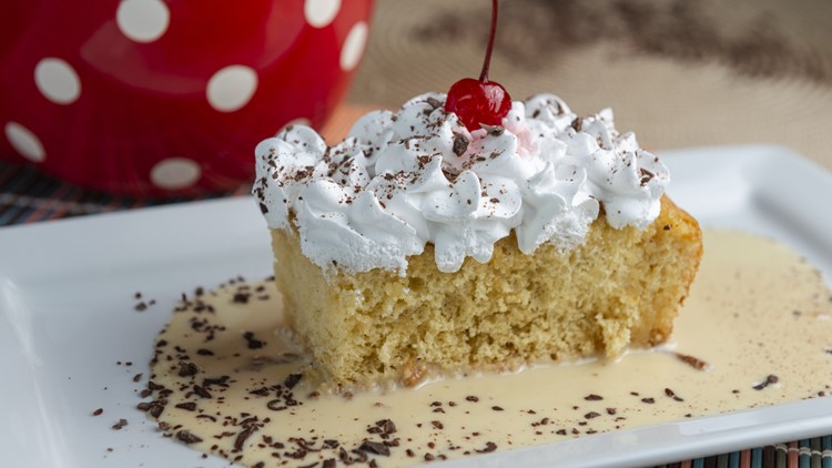 Recipe: Chef Kevin Belton's Tres Leches Cake