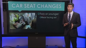 New car seat changes passed by Louisiana legislature