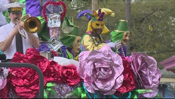 Okeanos, Mid-City and Thoth roll through New Orleans ahead of Mardi Gras