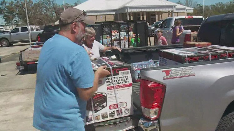 Churches from across the country send supplies, volunteers to St. Charles Parish