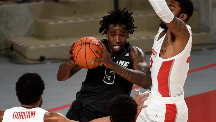 Sasser scores 28, No. 11 Houston beats Tulane 71-50