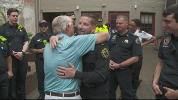 First responders reunite with man they saved at French Quarter Festival