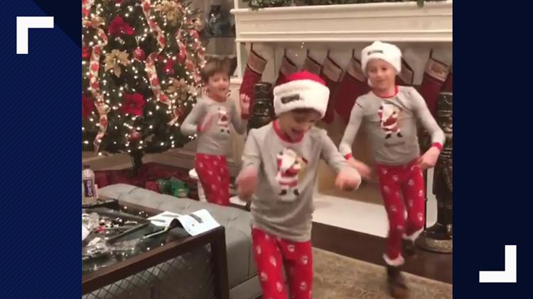 Watch Drew Brees Family Choppa Style Christmas Eve Wwltv Com