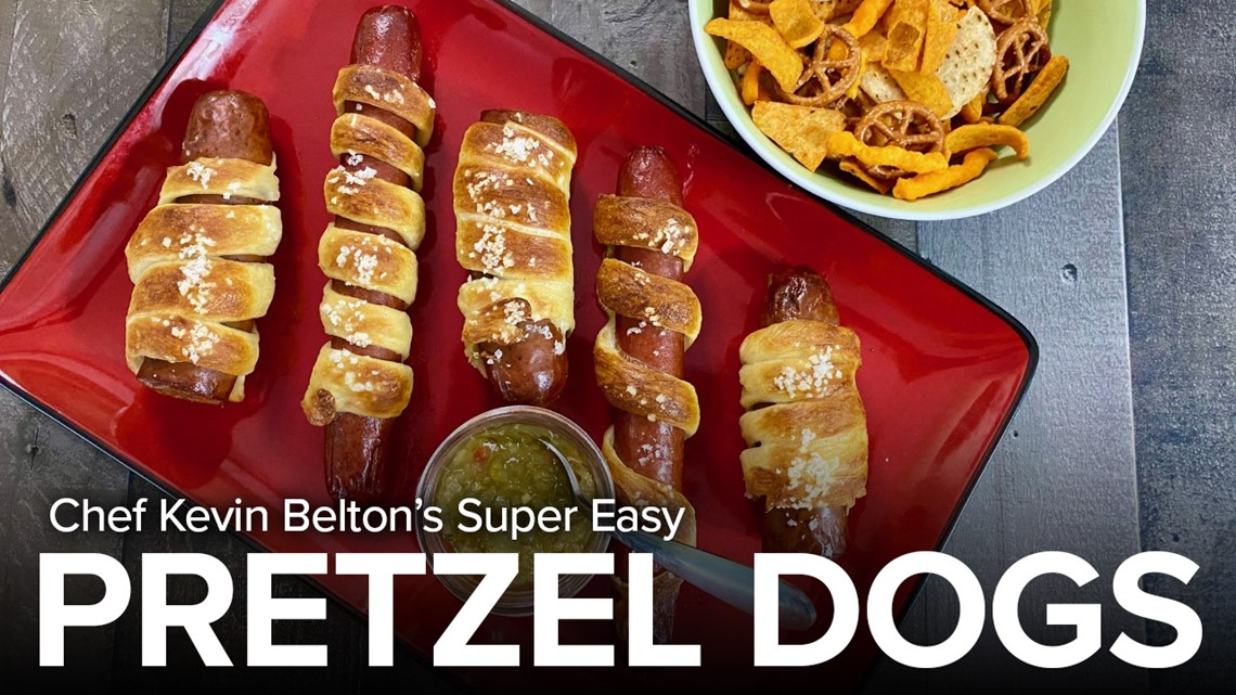 Recipe: Chef Kevin's Super Easy Pretzel Dog