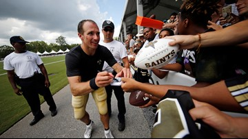 Drew Brees describes 'kinship' with Pelicans' Zion Williamson