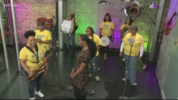 The Pinettes Brass Band