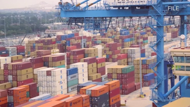 Port of New Orleans gateway for 65% of America's agricultural exports