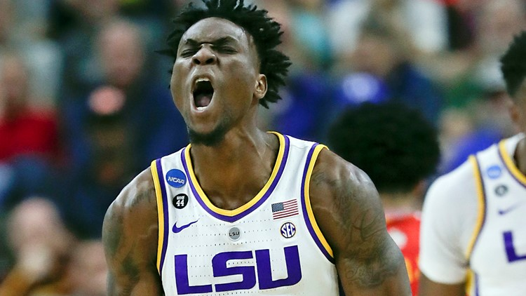 LSU going to Sweet 16 after last-second layup seals 69-67 win over Maryland
