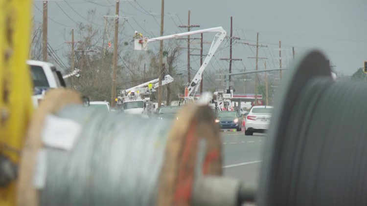 Power returning to LaPlace, but more than 90% of St. John still in the dark
